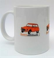 Mug panorama Dyane orange