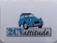 Mini magnet 2cv bleu
