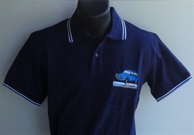 Polo de grand qualité avec logo Dyane brodé en France
